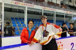 球员聚焦 | 郑恩来:愿为中国冰球效力,盼达到姥姥高度