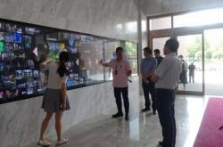 扬中市领导一行莅临宽创就扬中博物馆项目交换了彼此意见