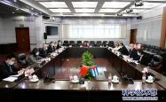 科技部部长王志刚会见古巴驻华大使佩雷拉