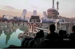尖叫连连!黄腾峡巨型环幕飞行影院五一开放迎客