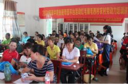 琼中就业顺利开展毛西村农村劳动力就业指导培训活动