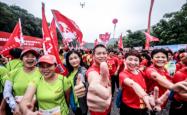 喜迎广西自治区60年大庆 向上,中国! 2018中国名山赛平天山圆满完赛